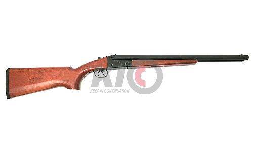 FS 0521 MAD MAX 6mm Gas Powered Fixed-Stock Double-Barreled (Long) Shotgun w/ Wood Furniture