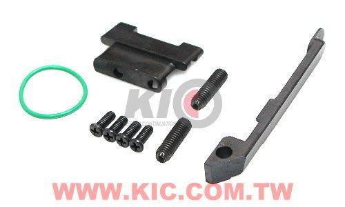 Detonator HK45 Slide Set For KSC HK45 - Silver