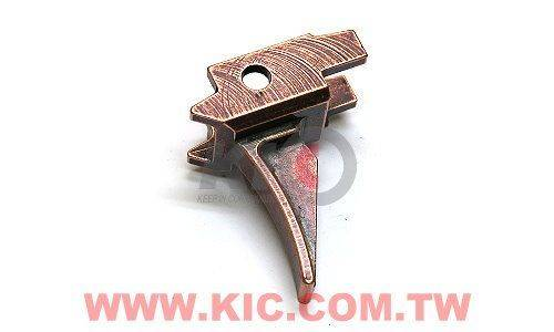 Hephaestus CNC Steel Trigger for GHK AK GBB - Type A - Bronze
