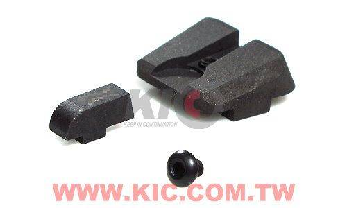 Detonator Trijicon NOVAK GL-11 Type Front / Rear Sight Set For TM G17 / G18C