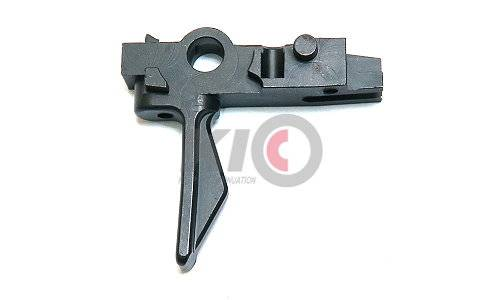 GunsModify Steel CNC Adjustable Tactical Trigger for Marui M4A1 MWS - Type A
