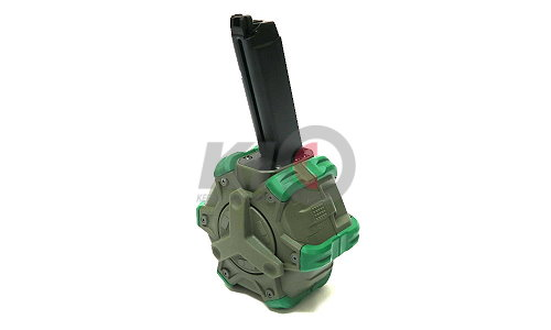 WE Gas Drum Magazine for G-Series (OD) - 300 Rds