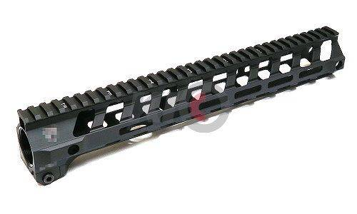 Iron Airsoft F-Style M-LOK SWITCH 5.56 Rail for PTW / WA GBBR - 13 Inch ( Black )