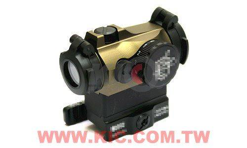 Ace 1 Arms T2 Style Dot Sight with QD Mount - TAN