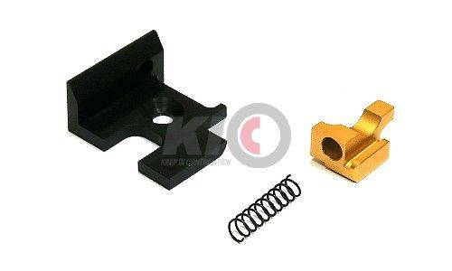 Detonator T-Style G34 Aluminum RMR Slide Set for TM G18C ( Matt Black )