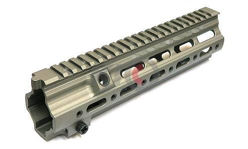 Zparts G Style SMR 10.5 Inch Rail For Systema from Zparts / VIPER / VFC - Green