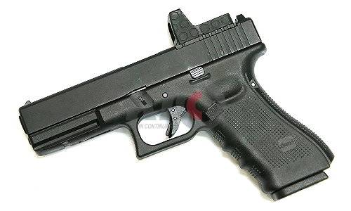 WE Model 17 GBB Pistol (Gen4 Black Frame / Black MOS Slide)
