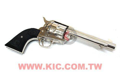 TANAKA COLT Single Action Army .45 - Detachable Cylinder - ARTILLERY - Nickel Finish