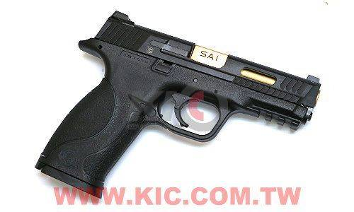 EMG × Cybergun / VFC - SAI S&W M&P 9 GBB Pistol (Black)