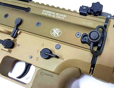 Angry Gun Rear QD Point Set for SCAR Series