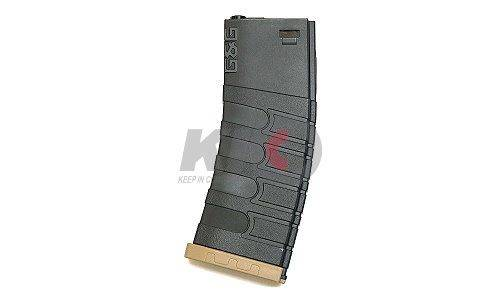 G&G Polymer AEG Magazine for GR16 Series (Black / Tan) - 120 Rds