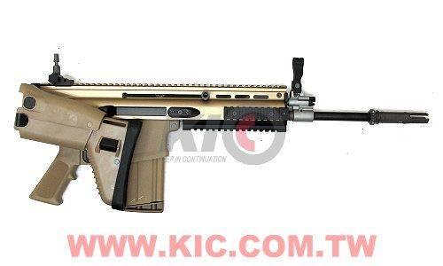 WE SCAR-H GBBR (Tan) - Folding Stock Model