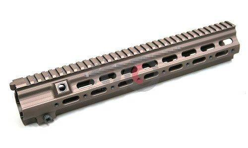HAO G Style SMR 14.5 Inch Rail for PTW / WE 888 GBB - Desert Dirt Color (DDC)