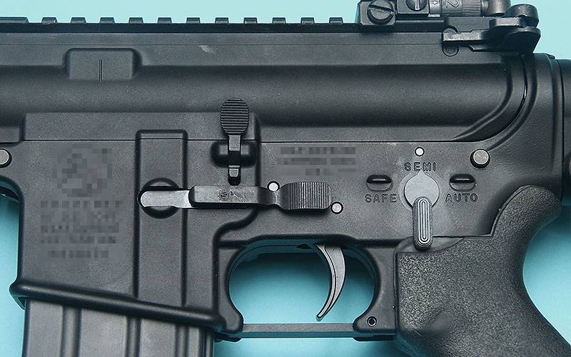 G&P KAC Type Ambi Magazine Catch for MARUI M4 MWS GBB Series