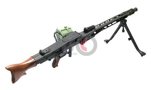 G&G GMG-42 (MG 42) GPMG AEG w/ Green Drum Mag