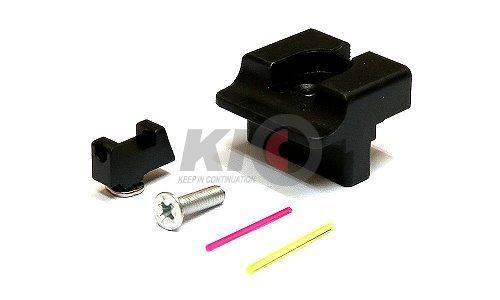 SAT TTI Type Steel Front / Rear Sight Set For TM G17 / G34