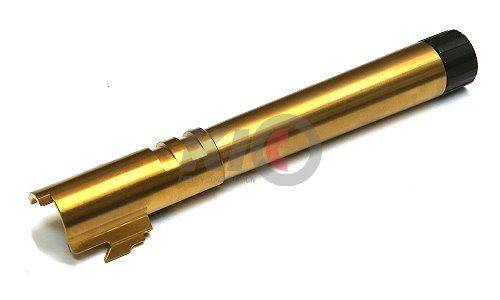Ace 1 Arms 14mm+ Threaded Outer Barrel For TM Hi-Capa 5.1 - Gold