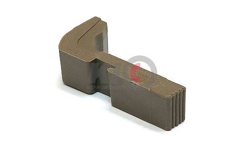 Guarder Extended Magazine Release for TM / KJ G-Series (FDE)