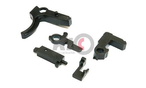 RA-TECH Steel Trigger Assembly for WE M4 GBBR - New Version