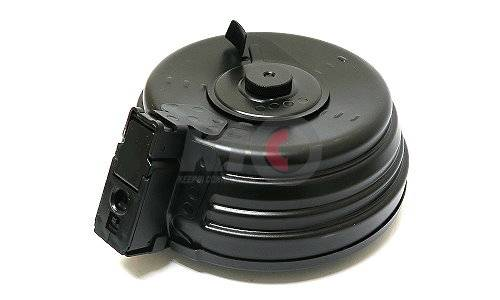 LCT Electric Winding Drum Magazine for LCK (AK) Series AEG - 2000 Rds
