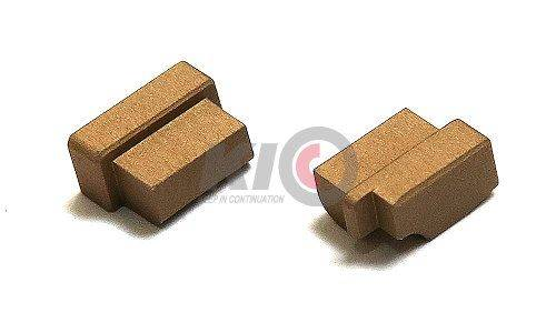 Bomber Safety Frame Plugs for Marui M&P9 Series - FDE