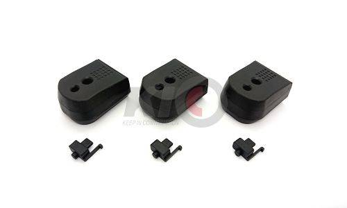 PTS Enhanced Pistol Shockplate for Marui Hi-Capa Series ( 3 Pack / Black )