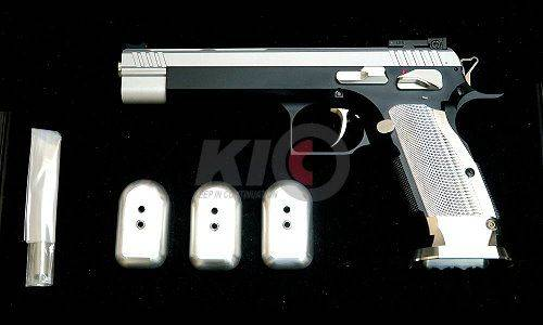 Gunsmith Bros GB-01 5.5 Inches Gas Blowback Pistol - Two Tone