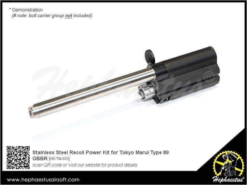 Hephaestus Stainless Steel Recoil Power Kit for TM Type 89 GBBR