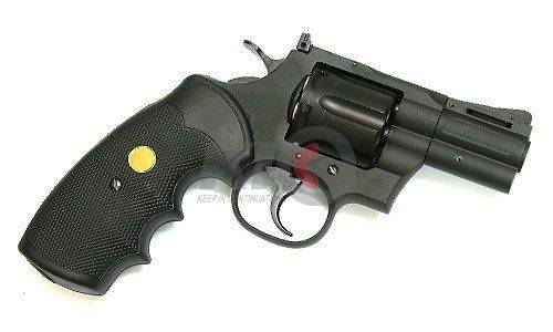 King Arms Revolver 2.5 Inch CO2 動力槍 - Black