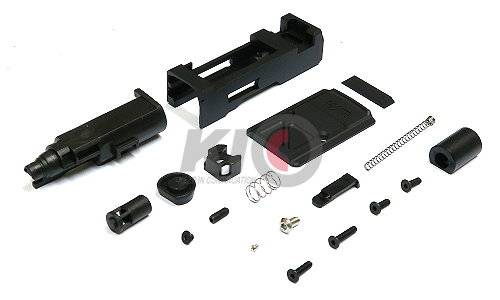 JDG WAR Afterburner Wide RMR Slide Set for Marui G19
