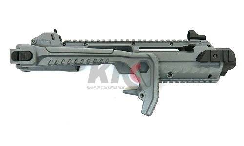 AW Custom Tactical Carbine Conversion Kit for Glock Series - Gray