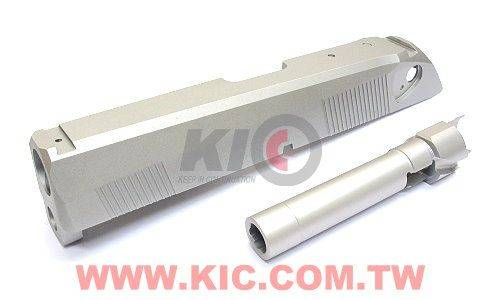 Detonator Px4 Type F Custom Slide Set For TM Px4 - Matt Silver