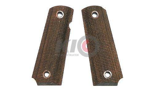 MULE 1911 Full Checker Military Walnut Wood Grip  for M1911 Series
