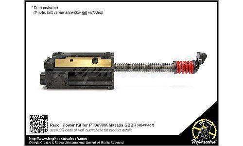 Hephaestus Recoil Power Kit for PTS / KWA MASADA GBB