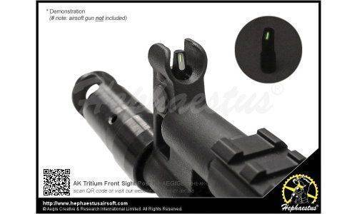 Hephaestus AK Tritium Front Sight Post for AEG / GBB