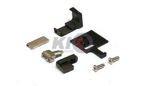 Detonator T-Style G17 Aluminum Slide Set for TM G17 / G22 / G34 ( Matt Black )