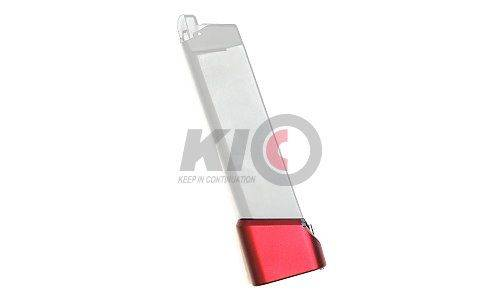 PRO-ARMS TTI Type Magazine Extension Base Pad for TM / WE G-Series - Red