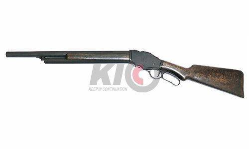 Marushin M1887 Guard\'s Shotgun 6mmBB - Wood Stock