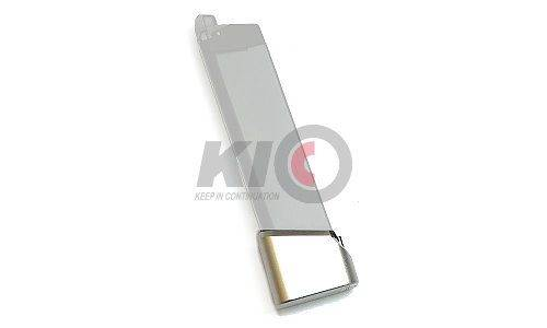 PRO-ARMS TTI Type Magazine Extension Base Pad for TM / WE G-Series - Silver
