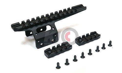 Action Army Front Rail Set for AAC T10 - BK